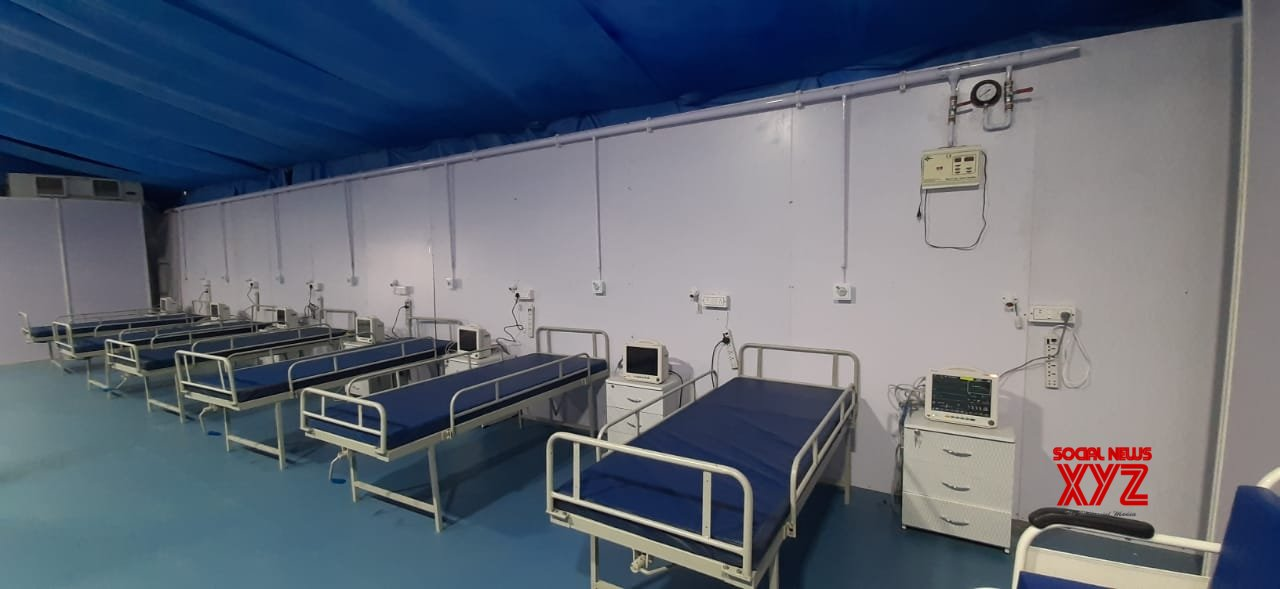 Covid dedicated DRDO hospital opens in Lucknow