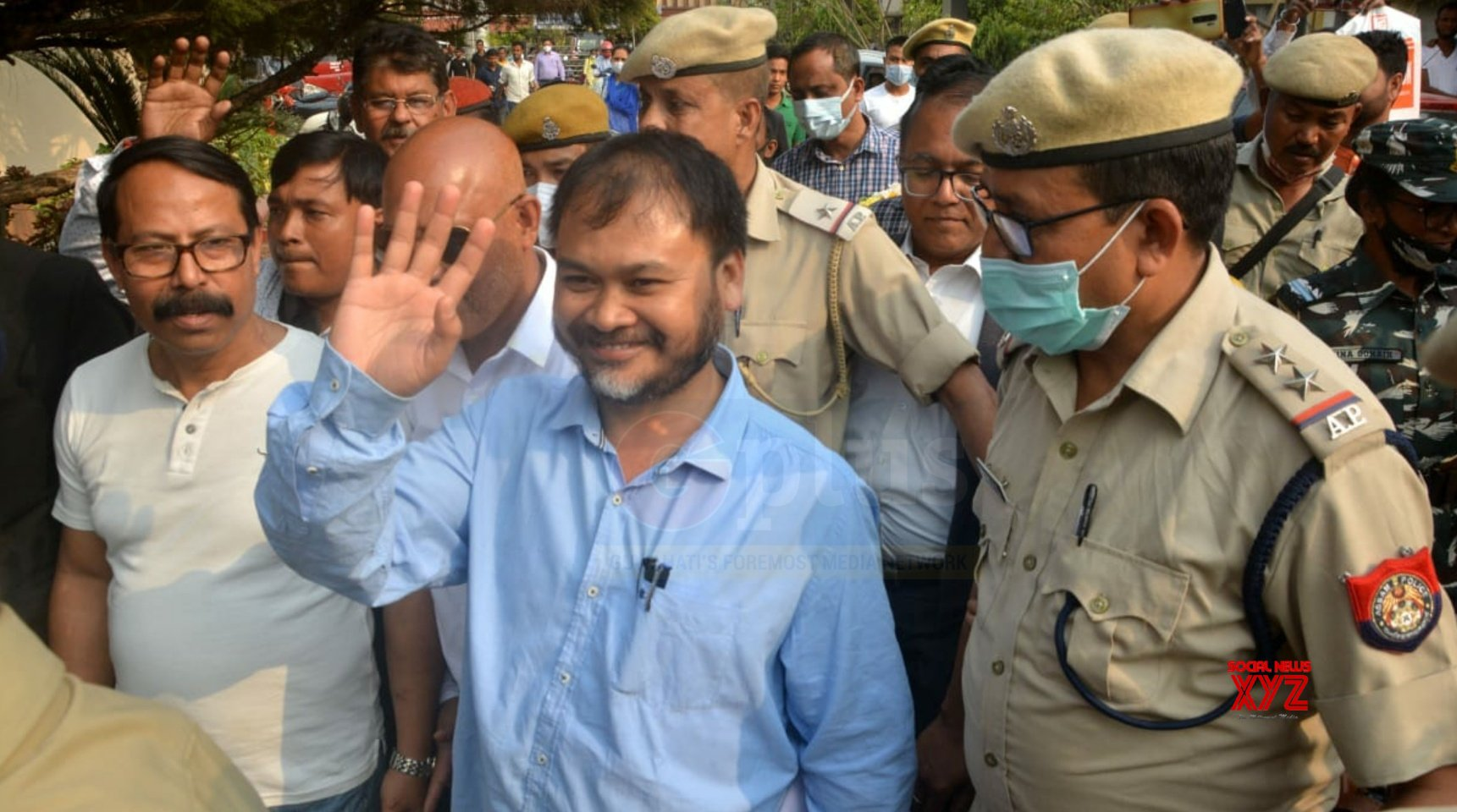 In a first in Assam polls, rights activist Akhil Gogoi wins from jail