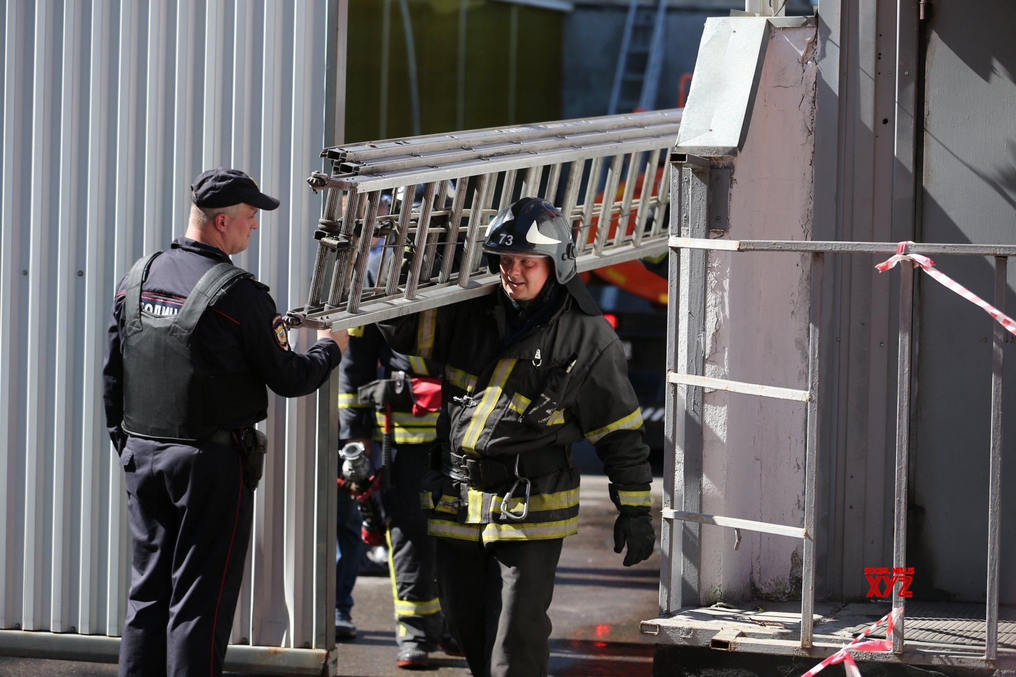 2 killed, 18 injured in Moscow hotel fire