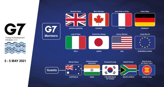 Human rights, threats to democracy in focus on day 2 of G7 meet