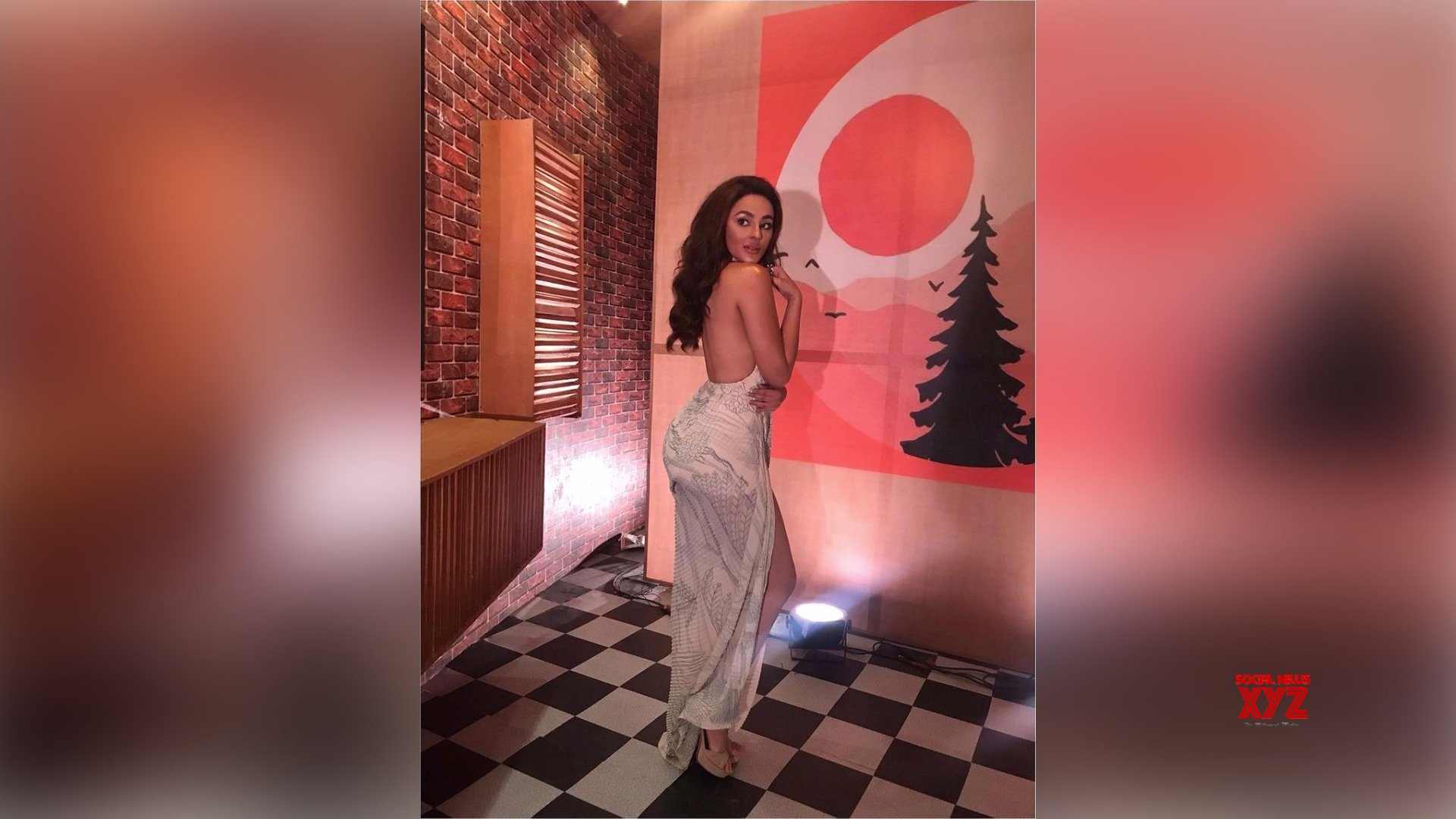 Here's Seerat Kapoor defining how exactly you are supposed to pose in a sexy backless gown
