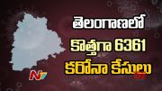 NTV: Telangana Reports 6361 New COVID-19 Cases (Video)