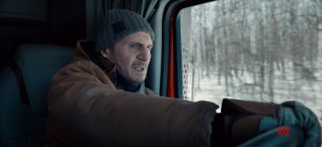 THE ICE ROAD: LIAM NEESON as MIKE. CR: NETFLIX © 2021