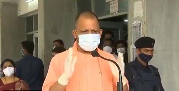 Yogi at Shah's residence, likely to meet PM and Nadda on Fri