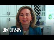 "Former GOP Congresswoman Barbara Comstock wants fellow Republicans to ""stop fearing"" Donald Trump (Video)"