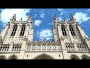 Washington cathedral tolls bell for COVID victims (Video)