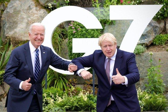 Johnson, Biden sign new Atlantic Charter