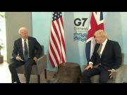 Biden highlights U.S. role in fighting global pandemic during overseas trip (Video)
