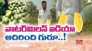 Yielding Yellow Watermelon | Karnataka's Young Farmer Baswaraj Patel | Doing it New Technology  (Video)
