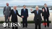 Biden meets with G7 leaders ahead of Putin summit (Video)