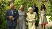Queen Elizabeth II hosts G-7 leaders, spouses (Video)