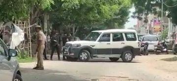Terrorists held form Kakori in Lucknow.