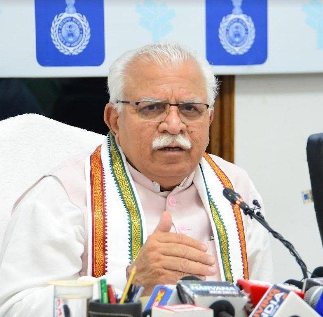 - Chandigarh - : Haryana Chief Minister, Manohar Lal Khattar #Gallery