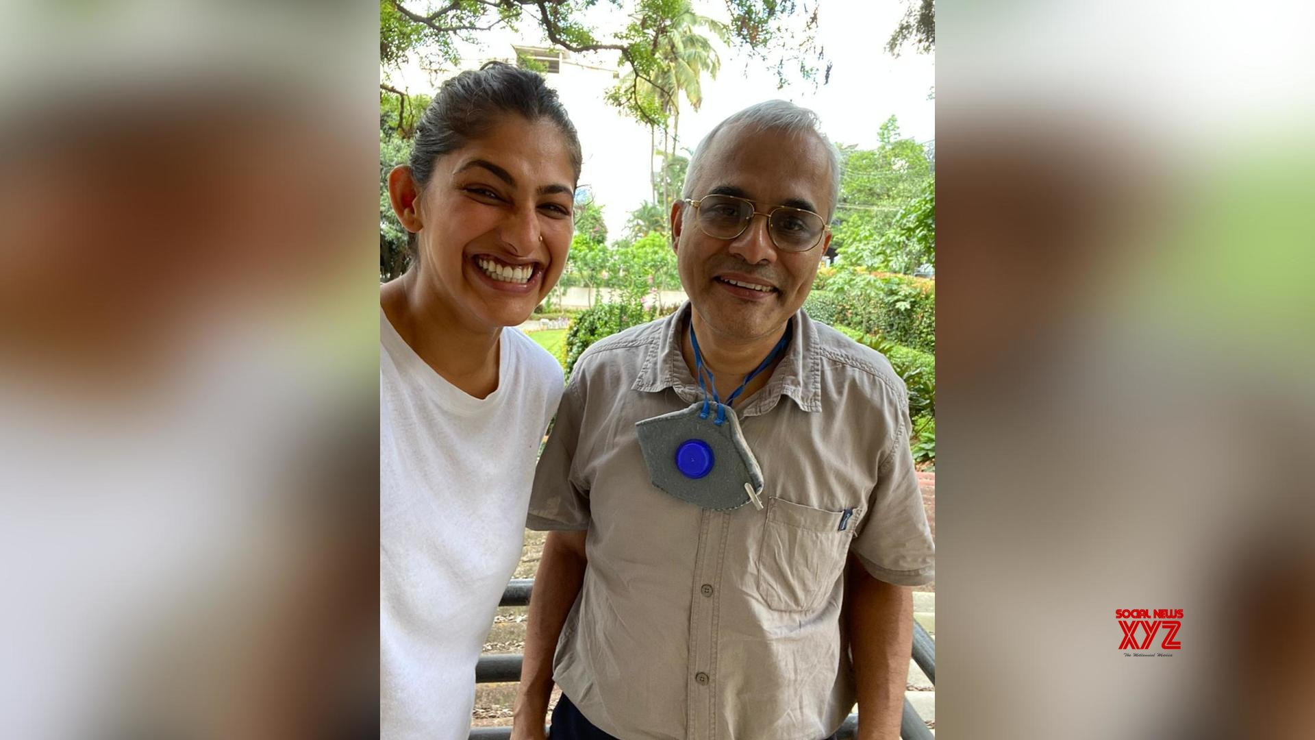 Kubbra Sait finds her favourite school teacher, Mr Chacko via social media! The actor shares an endearing birthday wish for him!
