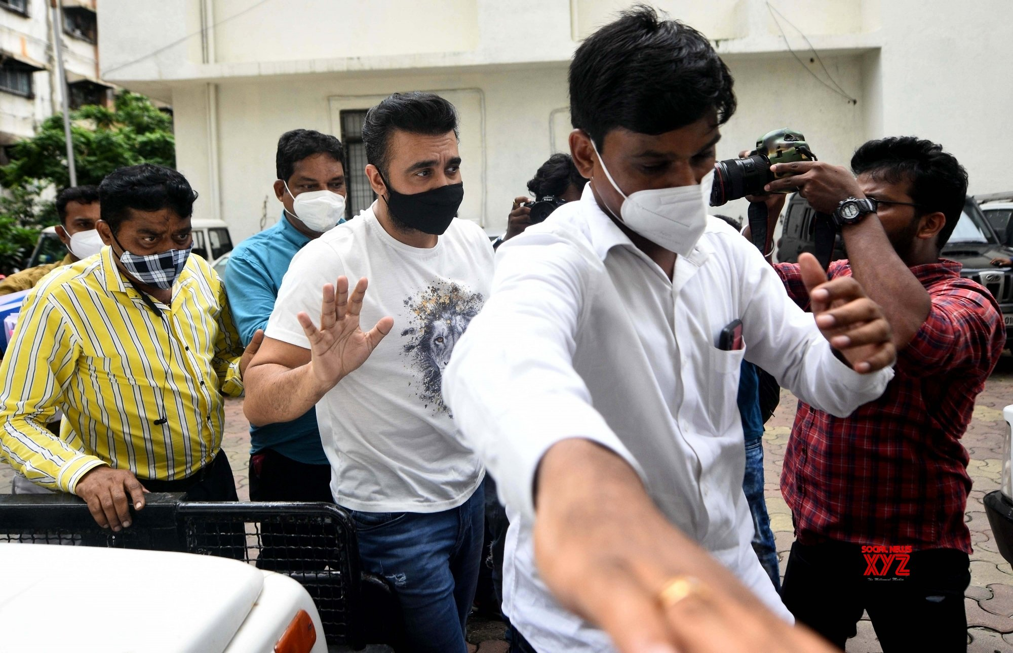 Mumbai: - Raj Kundra arrested by Mumbai Crime branch over Porn films racket #Gallery