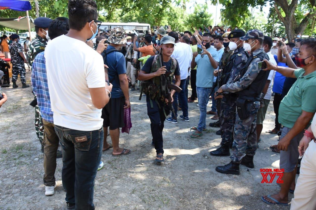 23 Bodo militants, including top leaders, surrender in Assam
