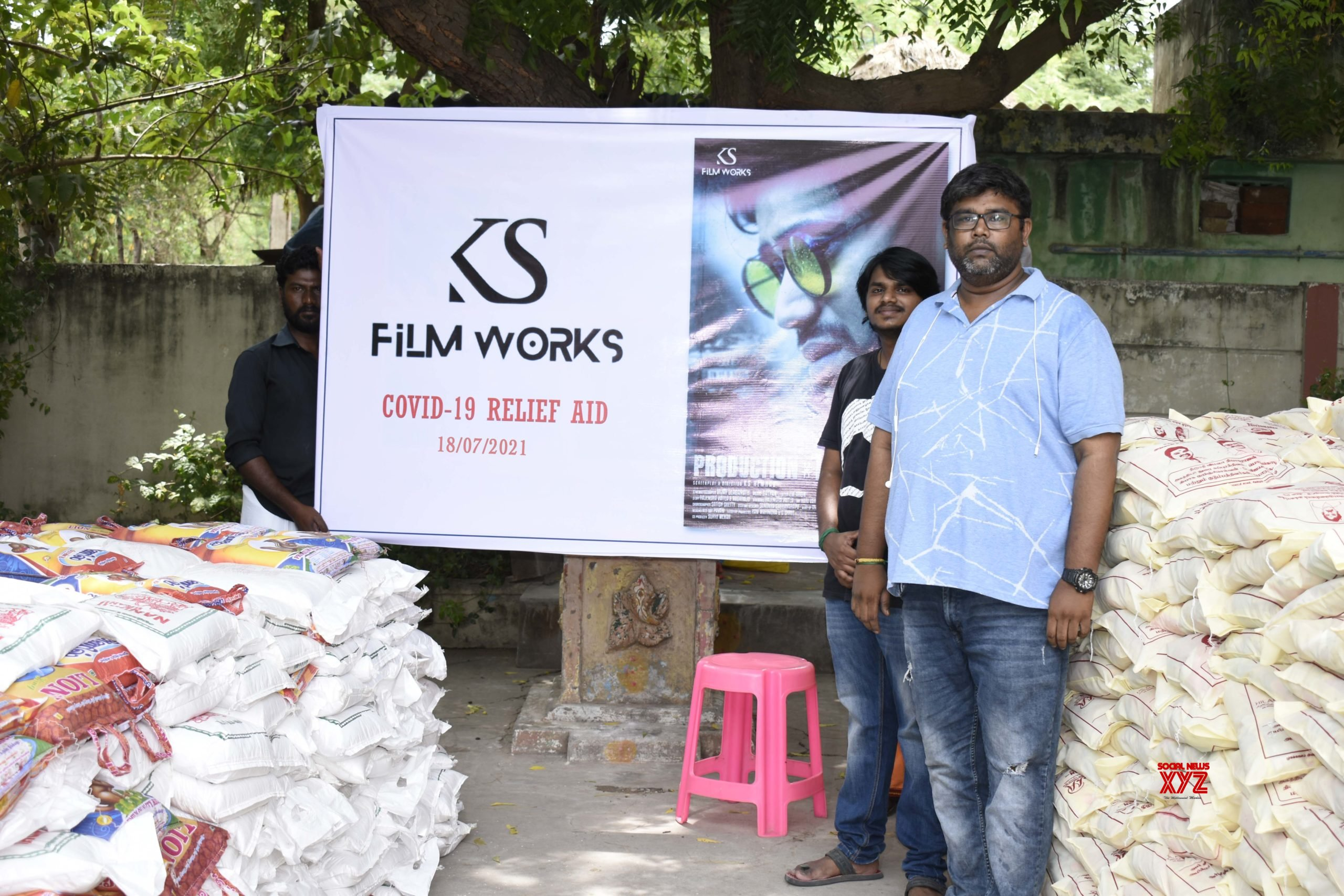 KS Film Works Has Been Helping Nearly 1000 Families Who Lost Their Jobs Due To The Lockdown
