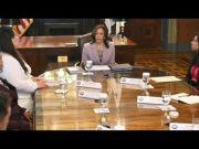 Vice President Kamala Harris meets with DACA recipients (Video)