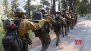 Crews make progress on N. California wildfire (Video)