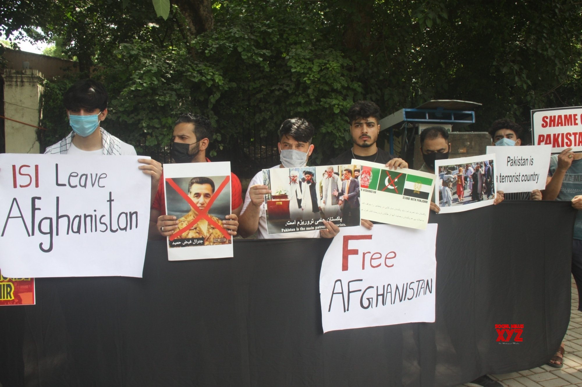 New Delhi: Afghan citizens protest against Pakistan in New Delhi (Batch - 2) #Gallery