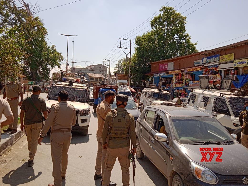 Srinagar: Three civilians were injured on Tuesday in a grenade attack at Pulwama district in Srinagar. #Gallery
