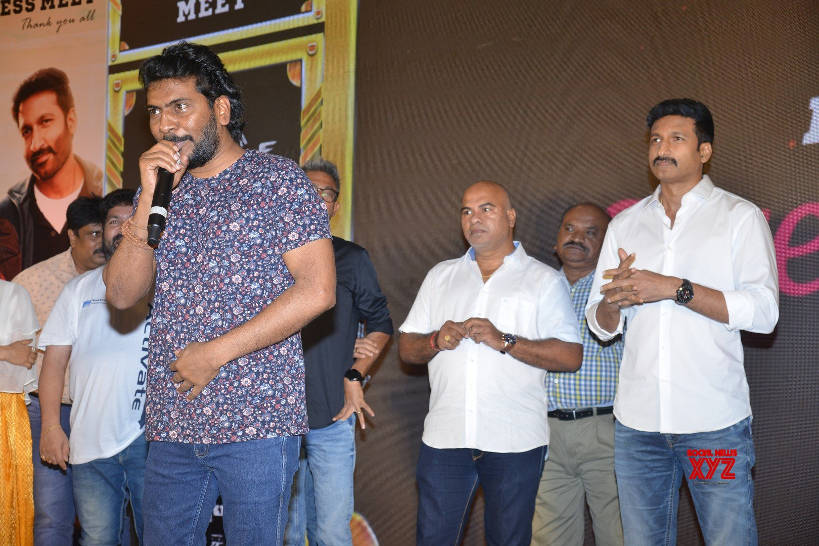 Gopichand's Seetimaarr Movie Success Meet - Gallery