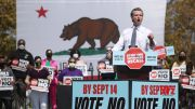 Governor Gavin Newsom's political fate at stake as voters head to the polls Tuesday (Video)