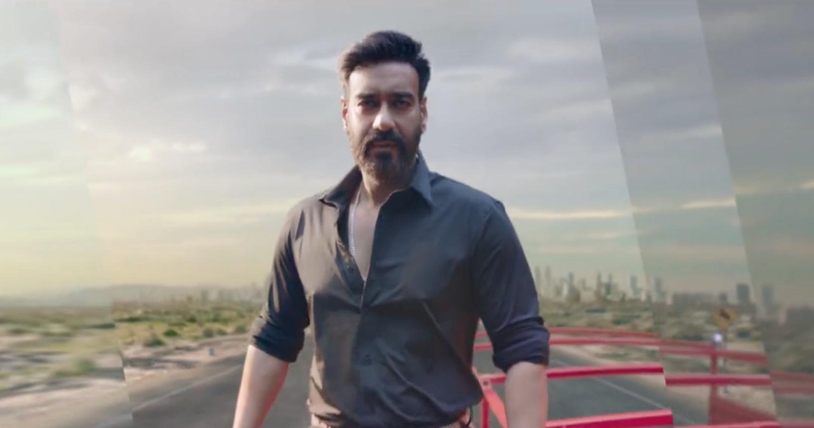 Anand Mahindra tweets Ajay Devgn's 'Phool Aur Kaante' stunt for ad