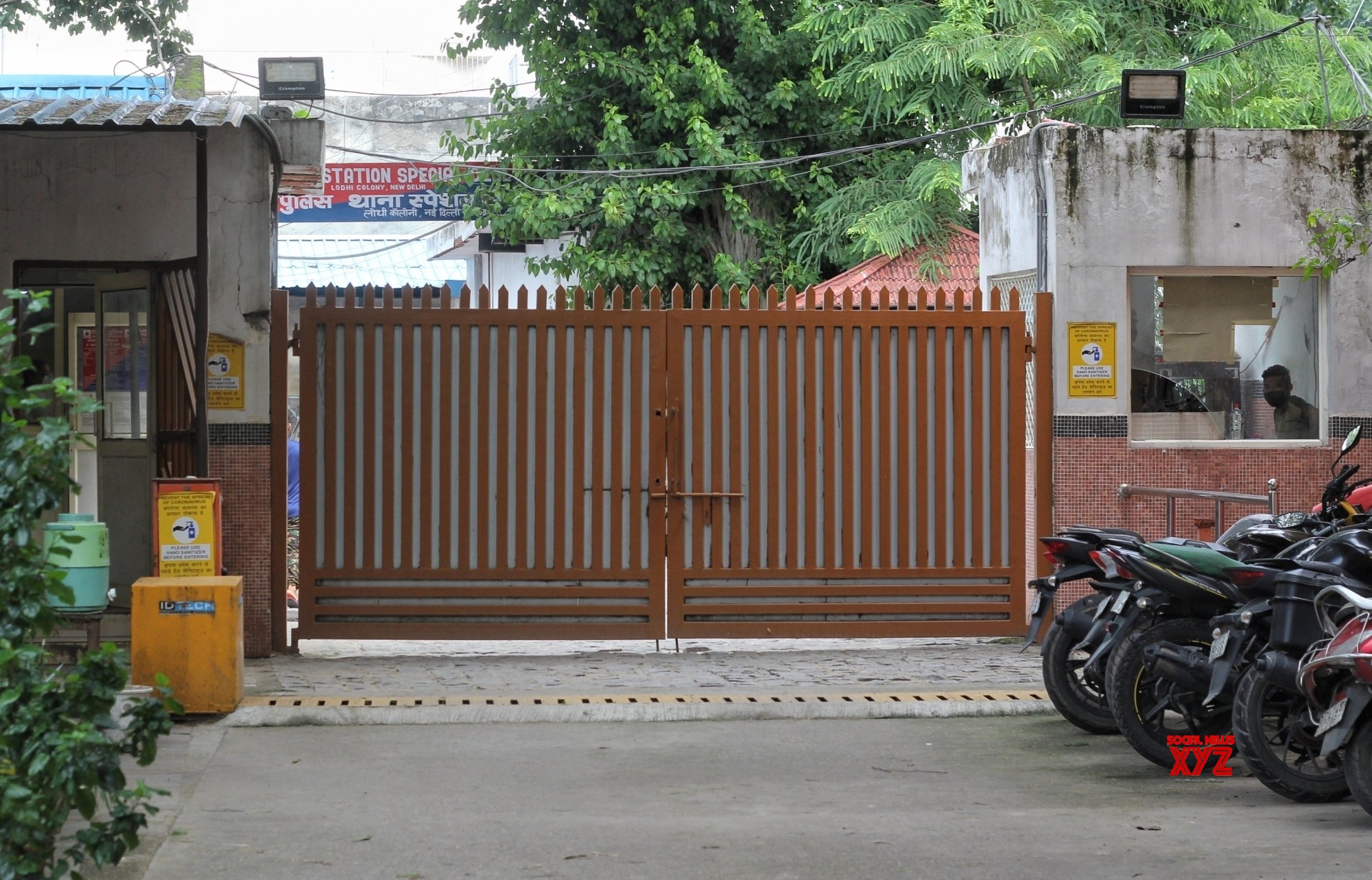 New Delhi : Special Cell Office for collection at Lodhi Colony in New Delhi #Gallery