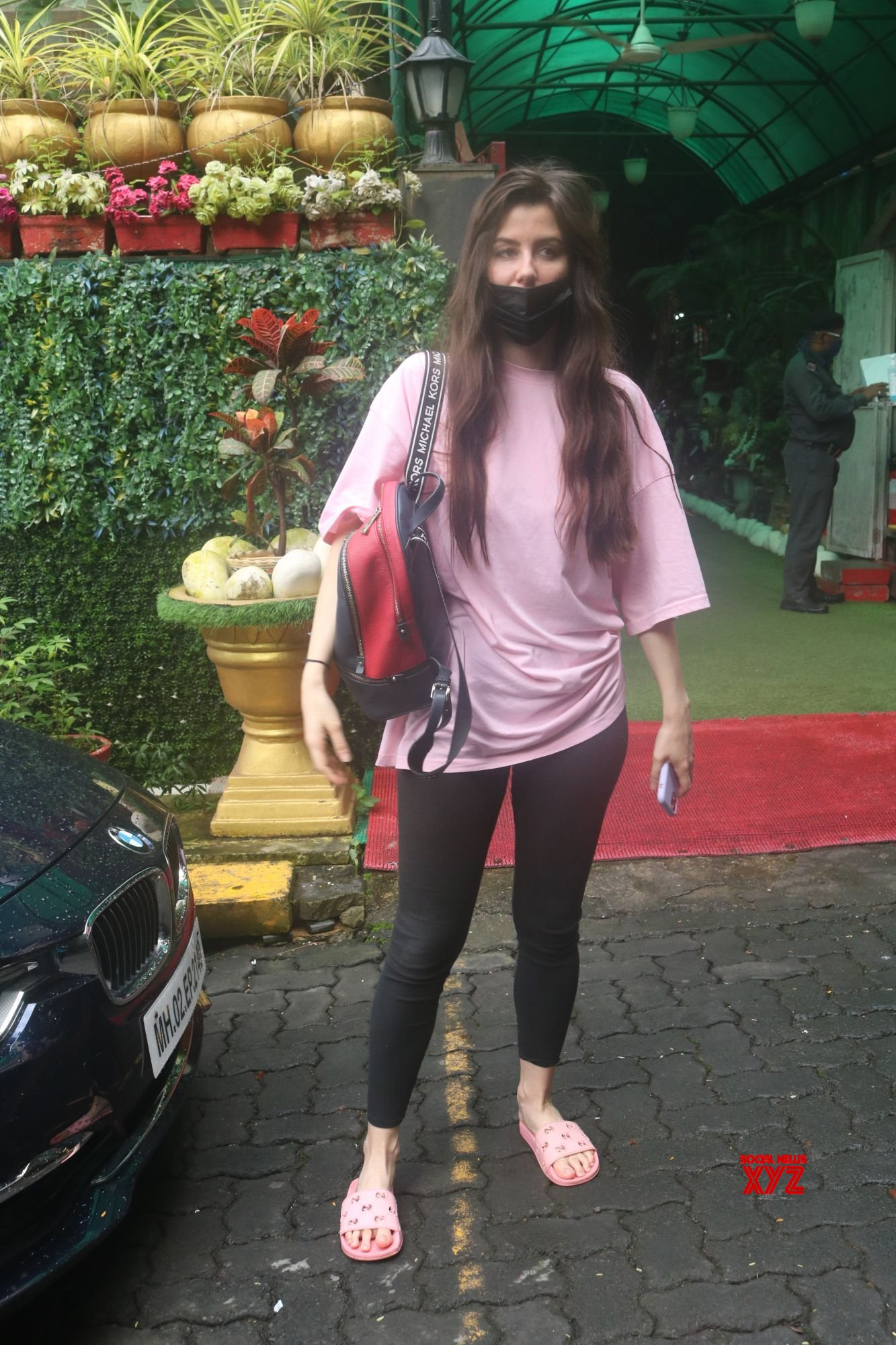 Actress Giorgia Andriani Spotted Outside Clinic In Bandra - Gallery