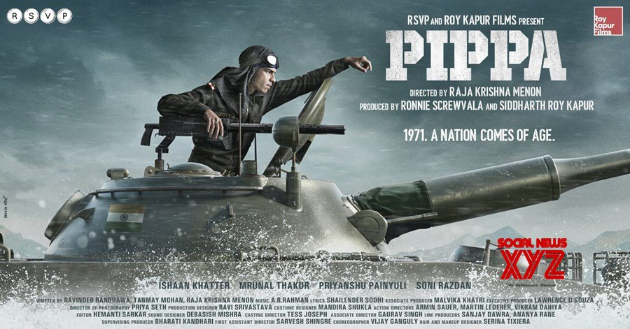 RSVP Movies Drops First Look Of Pippa, Ishaan Khatter As Brigadier Balram Singh Mehta