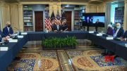 Biden, CEOs, biz leaders meet on vaccine mandates (Video)