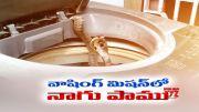 Snake Found in Washing Machine at East Godavari  (Video)