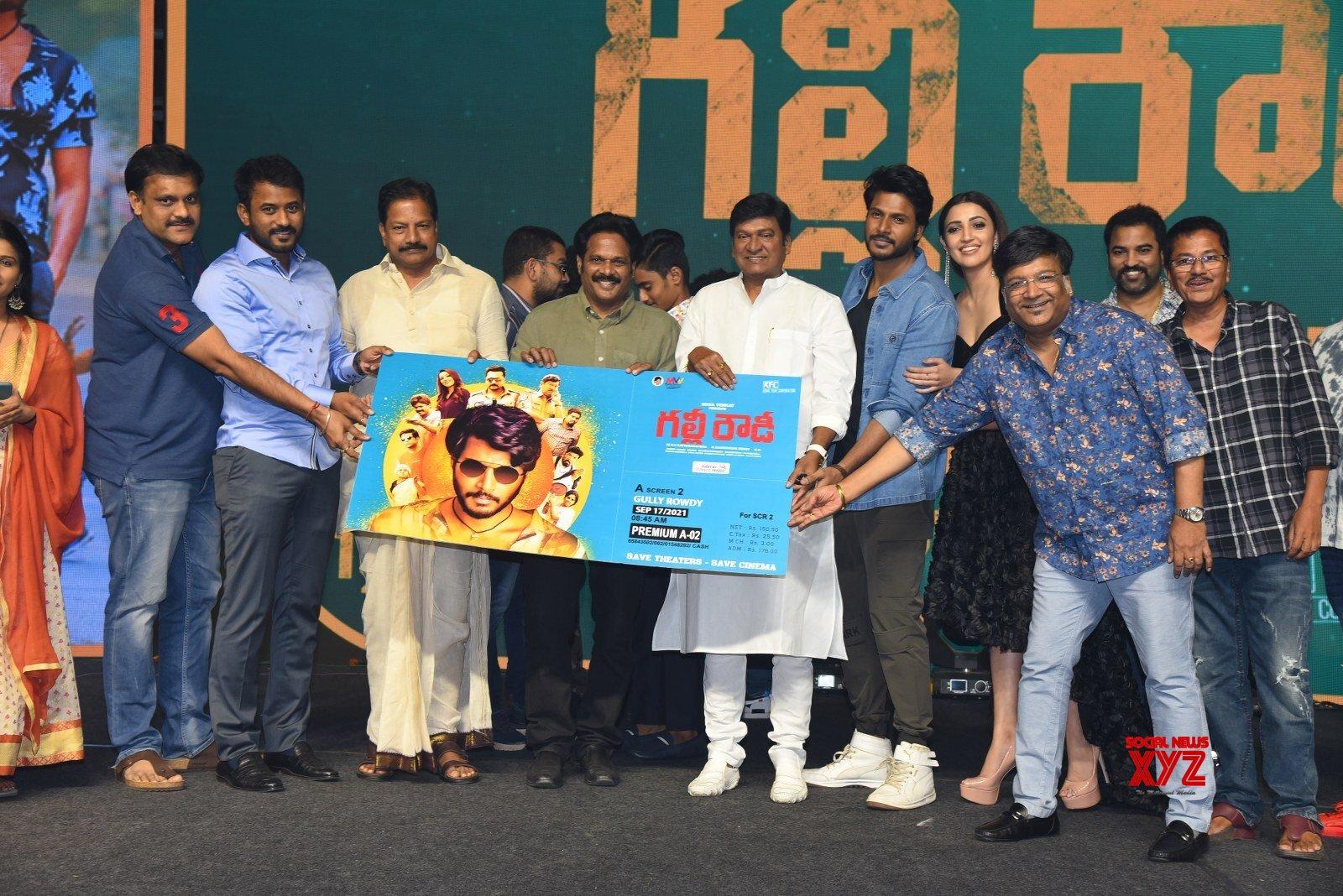 Sundeep Kishan's Gully Rowdy Pre Release Event Gallery Set 4