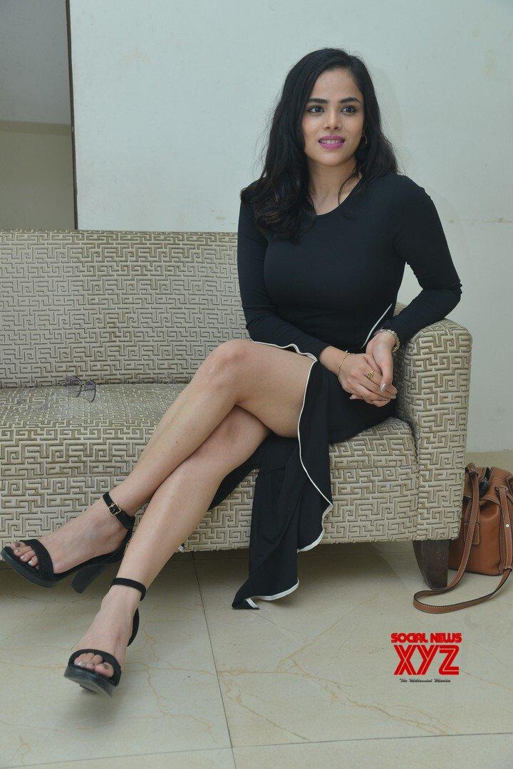 Actress Kriti Garg Stills From Neetho Movie Teaser Launch