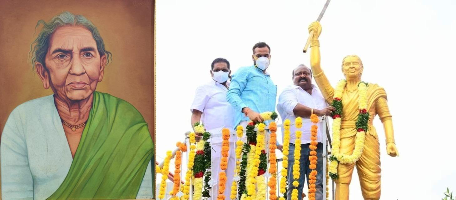 Telangana pays tributes to Chakali Ailamma