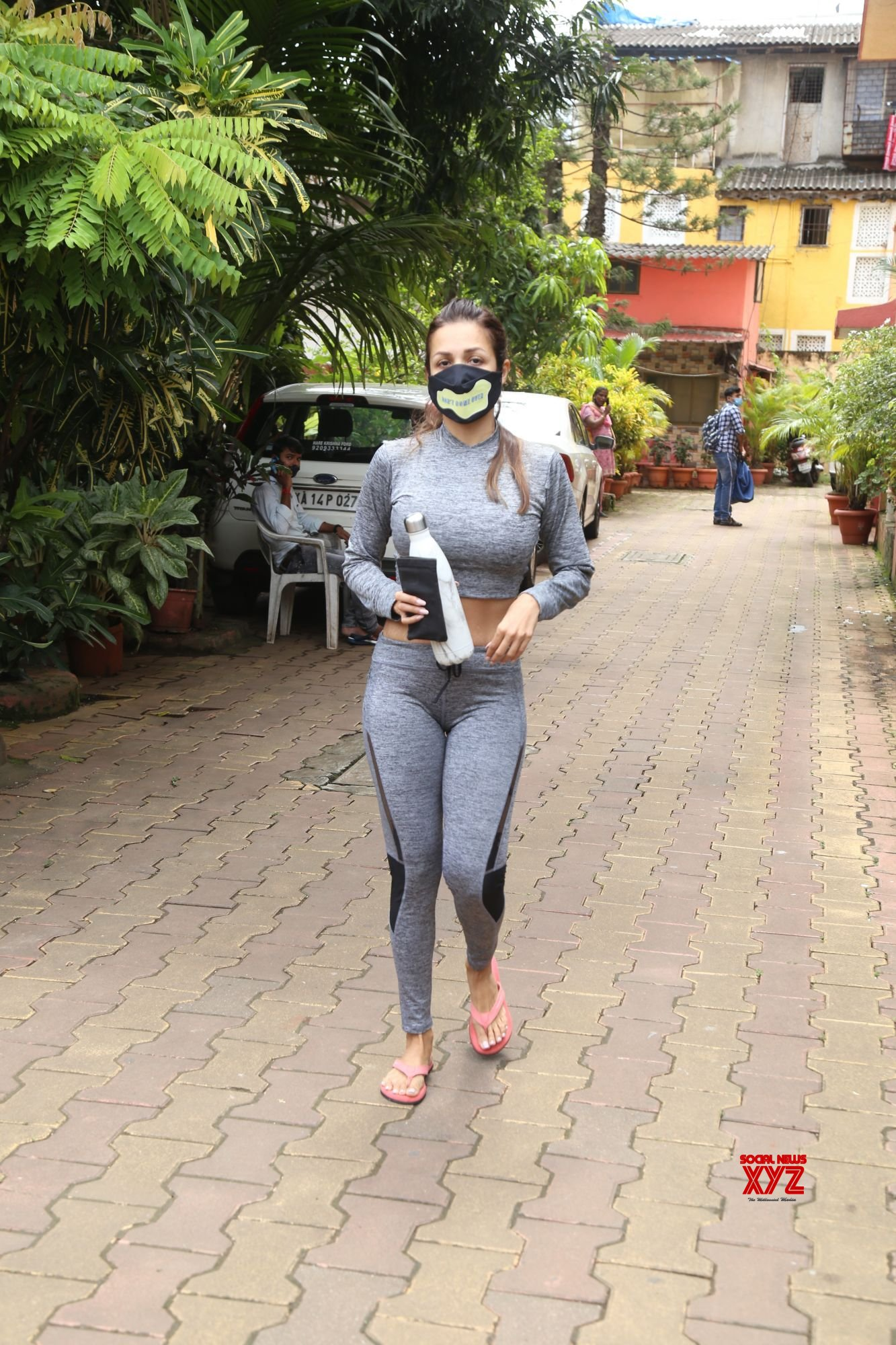 Actress Malaika Arora Spotted Outside Yoga Class In Bandra - Gallery