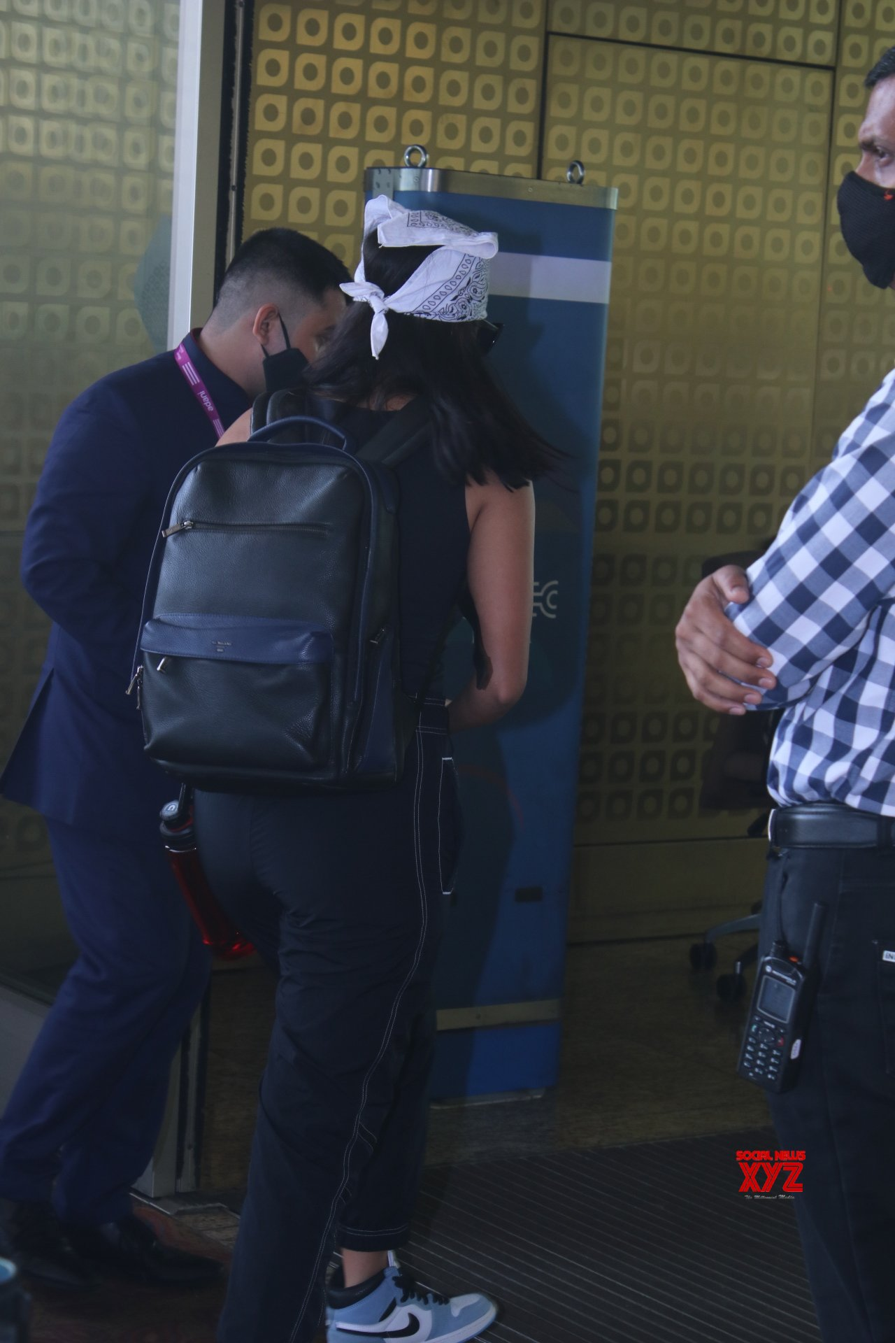 Actress Mrunal Thakur Spotted At Airport Departure - Gallery