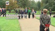 UK royals visit Kew Gardens for Earthshot event (Video)