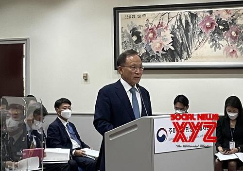 Seoul : U.S., S. Korea working to restart dialogue with N. Korea: Amb. Lee. #Gallery
