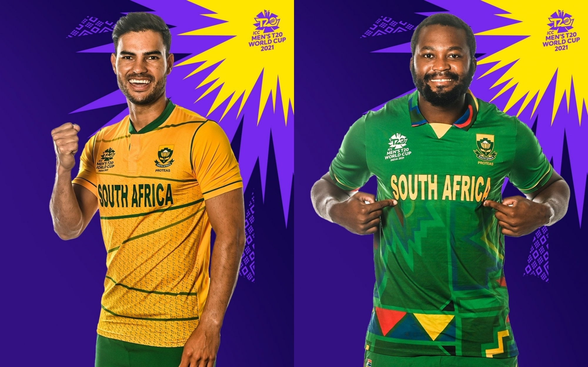 T20 World Cup: South Africa unveil two jerseys for mega event