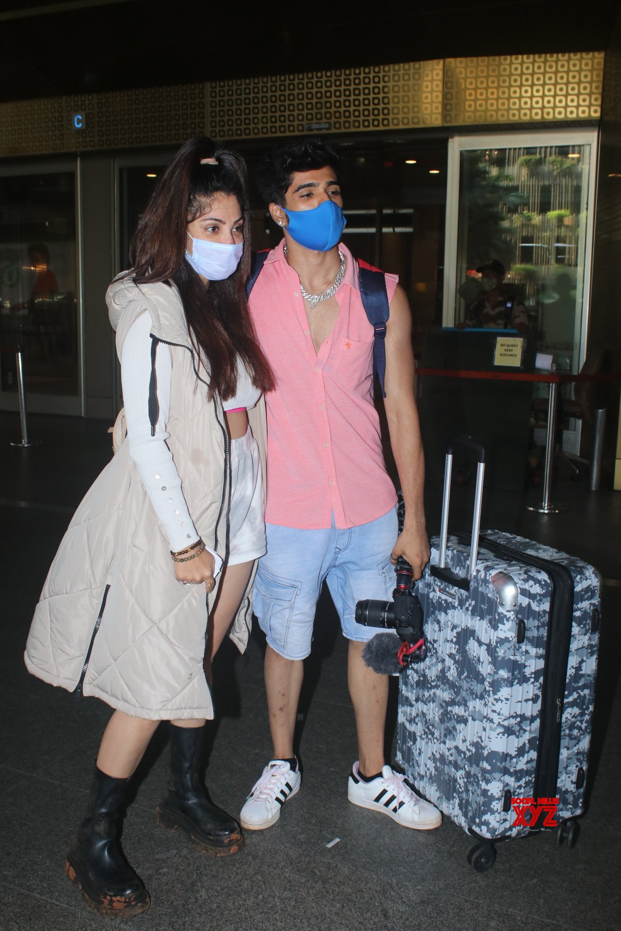 Zeeshan And Rubina Of Big Boss OTT Spotted At Airport Arrival Gallery