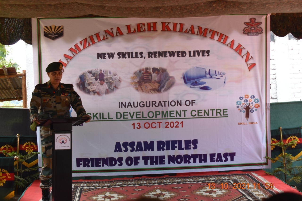 Assam Rifles sets up skill development centre in conflict zone