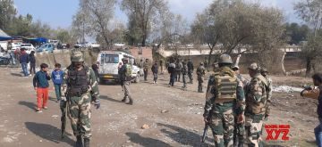 Srinagar: Five civilians were injured on Tuesday in a mysterious explosion in J&K's Bandipora district.(Photo: Nisar Malik /IANS)