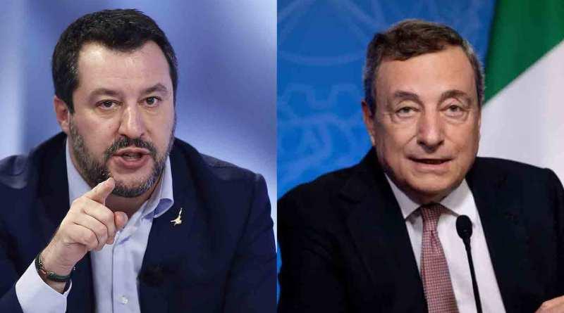 «'o Malamente» (Salvini) incarta «Isso» (Draghi)