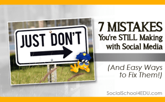 7 Mistakes You're STILL Making with Social Media - (And Easy Ways to Fix Them!)