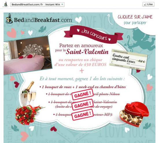 4 Ides De Concours Facebook Pour La Saint Valentin