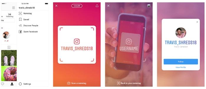 Instagram lance des Nametags, des QR codes scannables - Socialshaker