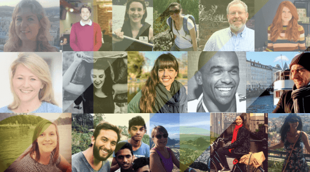 social enterprise volunteer collage