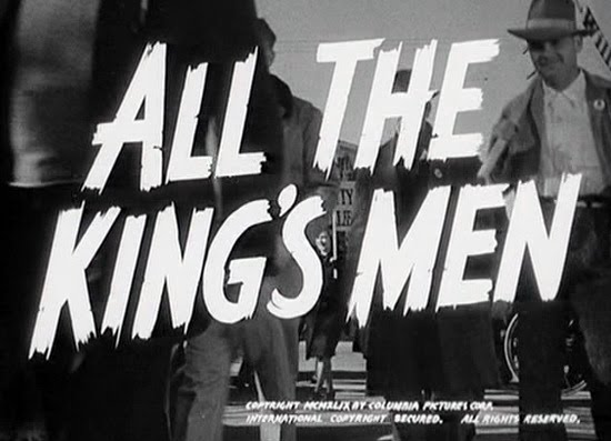ALL THE KINGS MEN ROBERT PENN WARREN